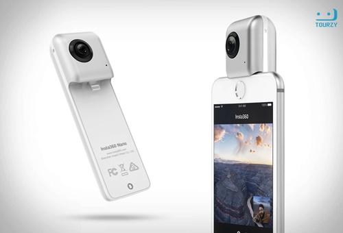 Insta360 Nano là chiếc camera 360 độ chỉ dùng cho Iphone