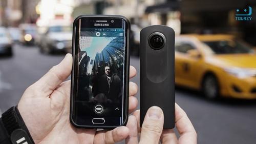 Ricoh Theta S là chiếc camera 360 dễ sử dụng dành cho mọi đối tượng người dùng