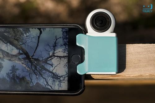 Giroptic iO là chiếc camera livestream lợi thế về giá cả nhưng mang lại chất lượng hình ảnh chưa cao