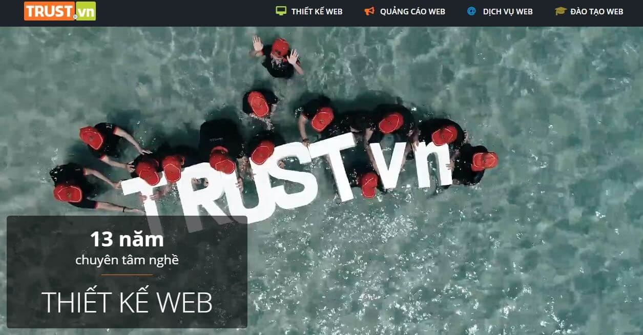 công ty thiết kế web uy tín tại tphcm