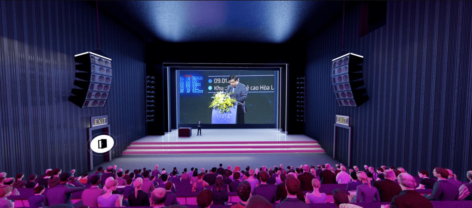 doanh nghiệp lớn tổ chức sự kiện thực tế ảo